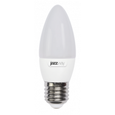 Cветодиодная лампа PLED- ECO-C37 5w E27 3000K 400Lm 230V/50Hz  Jazzway