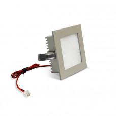 Светильник светодиодный LightLine LBE-078 DC3.2V 1,2W 350mA IP20 (90*90)*H37 mm Синий