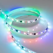 Лента SPI-5000-5060-60 12V Cx3 RGB (10mm, 14.4W/m, IP20) (ARL, Открытый, IP20)