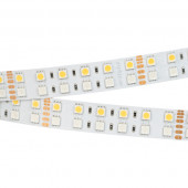 Лента RT 2-5000 24V RGB-White 2x2 (5060, 720 LED, LUX) (ARL, 32 Вт/м, IP20)