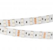 Лента RT-B120-15mm 24V RGB (28.8 W/m, IP20, 5060, 5m) (ARL, Открытый)