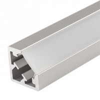 Алюминиевый профиль PDS45-KUB-2000 ANOD