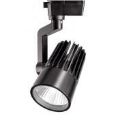 Светодиодный трековый светильник PTR 0140-2 40w 4000K 24° BL (чёрный) IP40 Jazzway