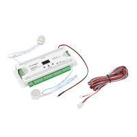 Контроллер лестничный SMART-STEP-32-2S-SUF (5-24V, 32x1A, SPI) (Arlight, IP20 Пластик, 5 лет)