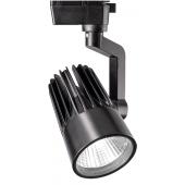 Светодиодный трековый светильник PTR 0130-2 30w 4000K 24° BL (чёрный) IP40 Jazzway