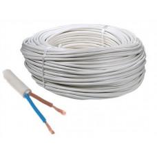 Провод ПВС 2х2.5 белый ТРТС (10м) (Ореол)