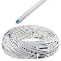 Провод ПВС 2х1.5 белый ТРТС (10м) (Ореол)