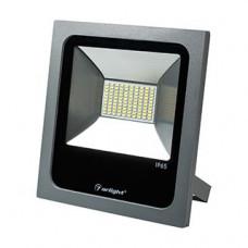 Светодиодный прожектор AR-FLAT-50W-220V Warm (Grey, 120 deg) Arlight 023838