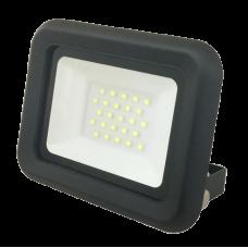 Светодиодный прожектор PFL- C-  30w  6500K IP65 (с рамкой)  Jazzway