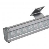 Светодиодный прожектор AR-LINE-1000L-36W-24V RGB (Grey, 30 deg, DMX512)