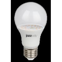 Светодиодная лампа PPG A60 Agro 9w CLEAR E27 IP20 (для растений) Jazzway
