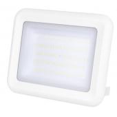 Светодиодный прожектор PFL- C-  50w WH 6500K IP65 (белый корпус) Jazzway