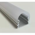 Алюминиевый профиль в компл. с  мат. экран, размер 21*14мм, L=2М,  алюмин. LR44R
