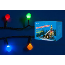 Гирлянда светодиодная с контроллером Разноцветные шарики ULD-S0540-060-DGA MULTI IP20 COLORBALLS