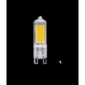 PLED-G9 COB  3w 240Lm 3000K220В (стекло d13.6*50мм)  Jazzw