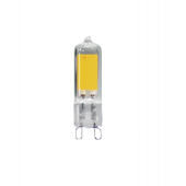 PLED-G9 COB  3w 240Lm 4000K220В (стекло d13.6*50мм)  Jazzw