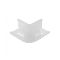 Соединитель угловой  (внешний) для профиля LR49 (16х16)