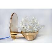 Светодиодный светильник Premier Decor Lotos (золото)