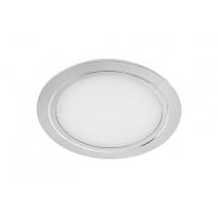 Светильник LED встраиваемый круглый D88мм, 12V, 3,6W, 3000К, 300лм, IP20, никель матовый