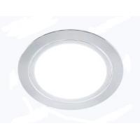 Светильник LED встраиваемый круглый D66мм, 220V, 3W, 3000К, 200лм, IP44, никель матовый