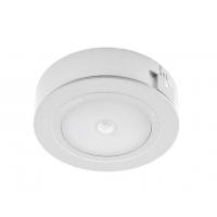 Светильник LED с датчиком движ. накл. круглый, на аккум. D66мм, 5V, 1.8W, 4000К, 60лм, IP20, серебро