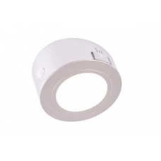 Светильник LED с датчиком движ. накл. круглый, на аккум. D66мм, 5V, 1.8W, 4000К, 60лм, IP20, серебро Led-Crystal LС66-PIR-A