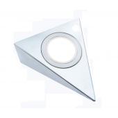 CCT Светильник LED треугольный 12V, 3.5W, 3000-6500К, 250лм, IP20, никель матовый