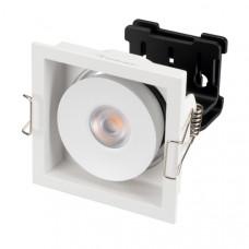 Светильник CL-SIMPLE-S80x80-9W Warm3000 (WH, 45 deg) Arlight 026874