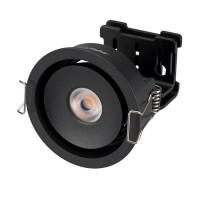 Светильник CL-SIMPLE-R78-9W Warm3000 (BK, 45 deg)