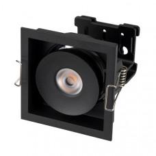 Светильник CL-SIMPLE-S80x80-9W Warm3000 (BK, 45 deg) Arlight 028149