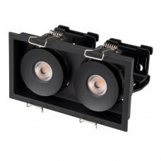 Светильник CL-SIMPLE-S148x80-2x9W Day4000 (BK, 45 deg) Arlight 026877