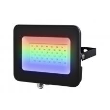 Прожектор PFL-30W RGB BL IP65 ЧЕРНЫЙ  Jazzway