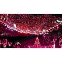 Гирлянда Сетка уличная , 300 LED, 2 х 1,5 м, красный