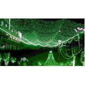 Гирлянда Сетка уличная, 300 LED, 2 х 1,5 м, зеленый