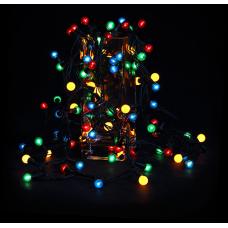 Гирлянда Жемчужные шарики, внутр. 72 ламп мультицвет Jazzway IRP72/2M