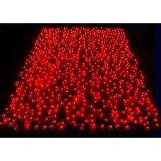 Гирлянда Занавес, 625 красный LED уличная 2,5х1,5 м Jazzway RB-OLDCL625-TR-E