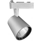 Светодиодный трековый светильник PTR 0330 30w 4000K 24° GR (серый) IP40 Jazzway