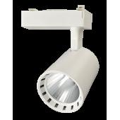 Светодиодный трековый светильник PTR 0330 30w 4000K 24° WH (белый) IP40 Jazzway