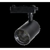 Светодиодный трековый светильник PTR 1335 35w 3000K 24° BL (чёрный) IP40 Jazzway