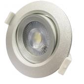 Светильник PSP-R   9044 7W SILV 4000K 38° круг/поворот IP40 Jazzway