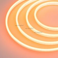 Гибкий неон GALAXY-1206-5000CFS-2835-100 12V Amber (12x6mm, 12W, IP67) Arlight 029359