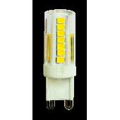 Светодиодная лампа PLED-G9  PRO 5w  4000K 400Lm 230V /Без пульс./ d16*50мм  Jazzway