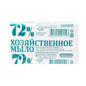 Мыло хозяйственное 72%  140 г.