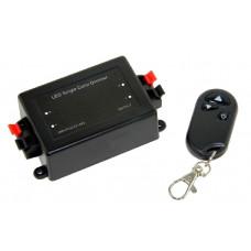 Диммер с радио пультом 12V/96W, 24V/192W, 8А*1ch, черный Led-Crystal LC40