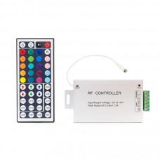 Контроллер LС45  с ИК пультом 12V/144W, 24V/288W, 4А*3ch Led-Crystal LC45