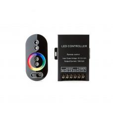Контроллер LC34  с сенсорным пультом, 12V/360W, 24V/720W, 10А*3ch, черный Led-Crystal LC34