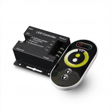 Контроллер LC35  с сенсорным пультом,  MIX-CCT touch,12V/144W, 24V/288W, 6А*2ch Led-Crystal LC35