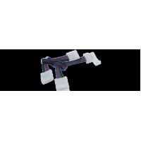 Коннектор для ленты SWG 4pin-10mm30mm-2