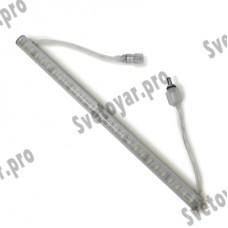 Светодиодный светильник MS-AL50-45L12V-WW Теплый Белый DC12V 50см 45LED IP65 + комплект крепежей 2800-3200К (C-06-R) MAYSUN L10V1Z3_0-5