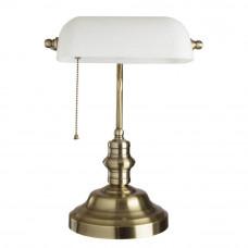 Настольная лампа Arte Lamp Banker A2493LT-1AB Arte Lamp A2493LT-1AB